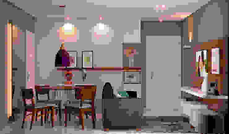 Sala de Jantar e Tv Salas de jantar modernas por Madi Arquitetura e Design Moderno