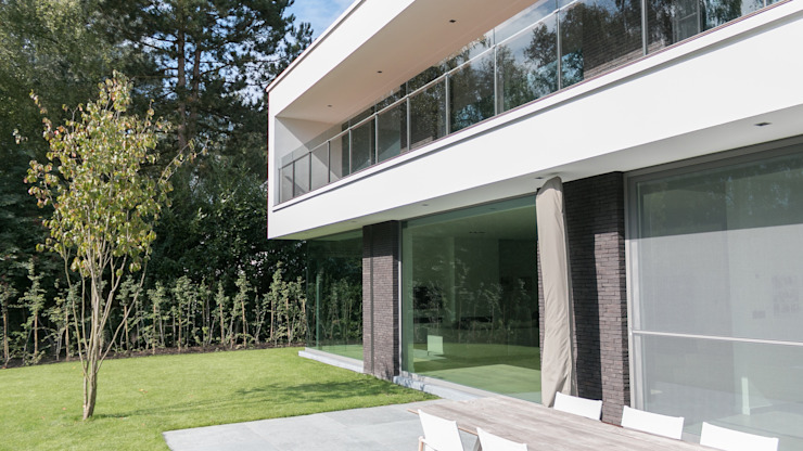 house JV-K Niko Wauters architecten bvba Terrace