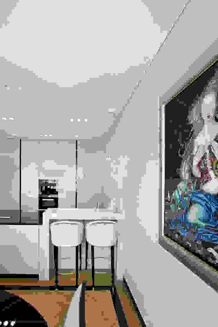 Projekt Apartamentu Klasyczna kuchnia od Katarzyna Kraszewska Architektura Wnętrz Klasyczny
