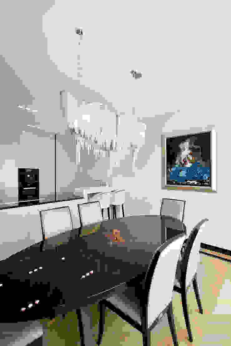 Projekt Apartamentu Klasyczna jadalnia od Katarzyna Kraszewska Architektura Wnętrz Klasyczny