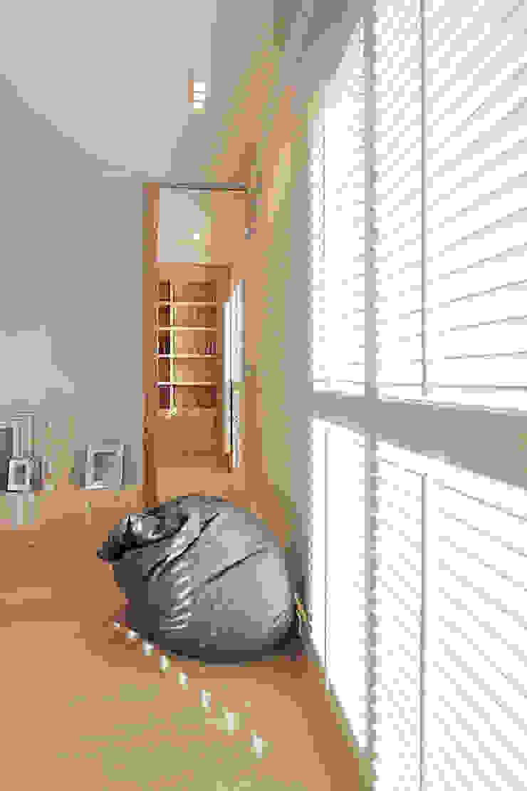 Mieszkanie dwopoziomowe Eko Park Klasyczny salon od Katarzyna Kraszewska Architektura Wnętrz Klasyczny