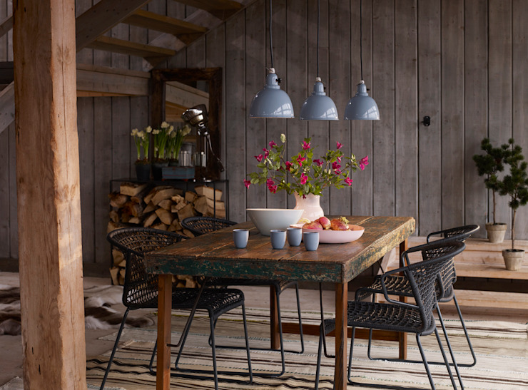 Country style dining room by Agence Inside DECO Country