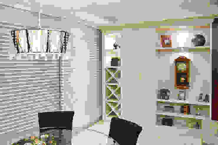 Ana Levy | Arquitetura + Interiores Dining roomWine racks