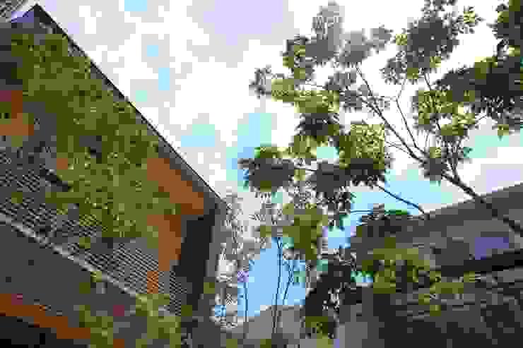 枕木木の庭 - 写真08: 平山庭店が手掛けた折衷的なです。,オリジナル