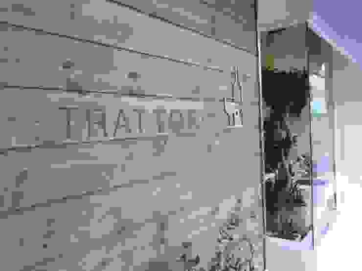 レストラン 外観 モダンなレストラン の 空間設計カラー店舗設計事務所 モダン 無垢材 多色