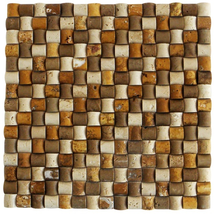Special Basket Mosaic Celebi Yapı Rustik Mozaik
