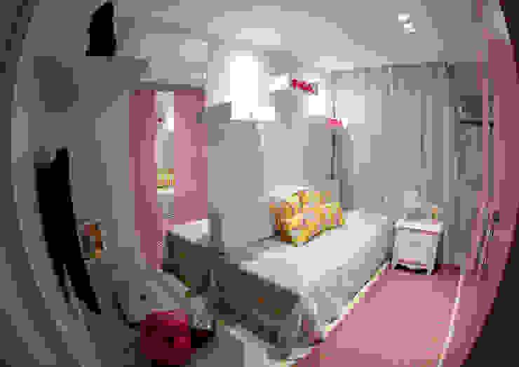 Millena Miranda Arquitetura Dormitorios de estilo moderno