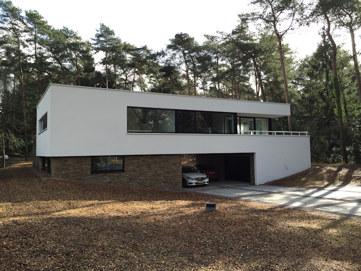 Modern houses by ir. G. van der Veen Architect BNA Modern