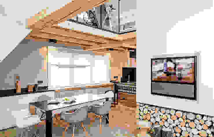 Bartek Włodarczyk Architekt Salas de estilo moderno