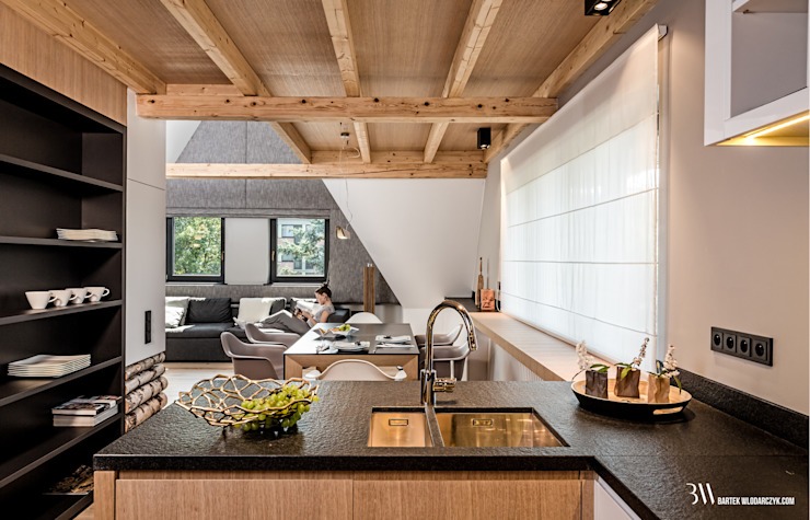 Кухня в стиле модерн от Bartek Włodarczyk Architekt Модерн