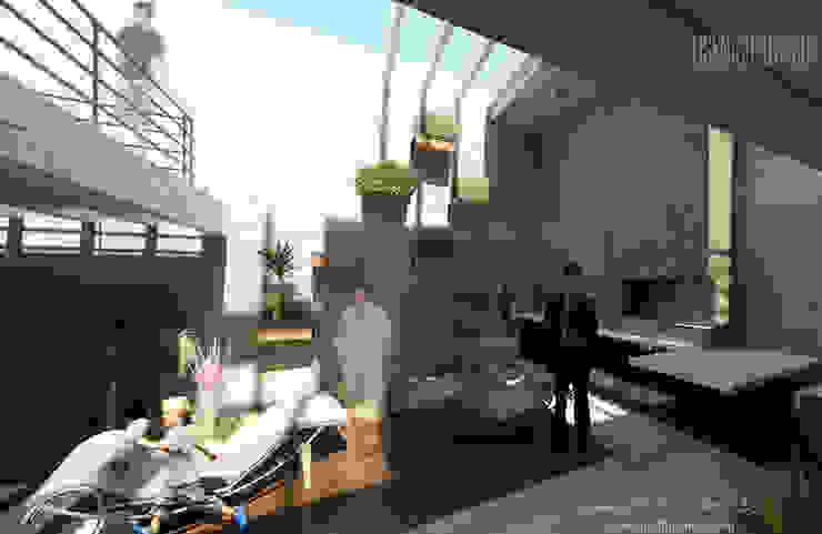 Дома в стиле минимализм от Eisen Arquitecto Минимализм