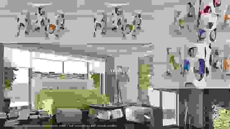 Minimalist living room by Studio di Architettura Minimalist