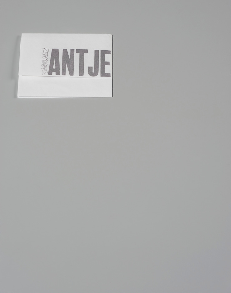 Convite de casamento Pedro e Antje por Tipografia Dias