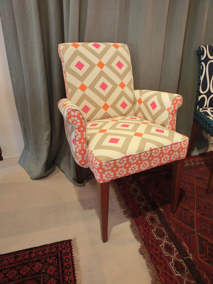 Boris Arm Chair (株)工房スタンリーズ キッチンテーブル&椅子 綿 オレンジ