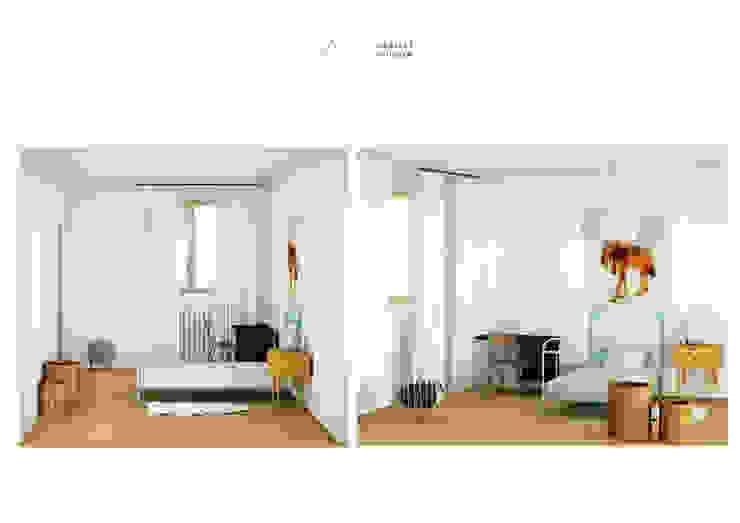 Chambre d'enfant Chambre d'enfant scandinave par SLOWOOD / MOUVANCE DESIGN Scandinave