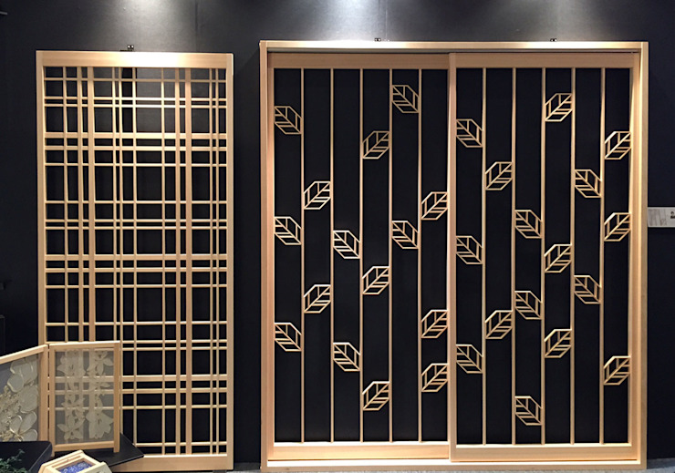 Original modern door of the new sense 有限会社種村建具木工所 Modern windows & doors