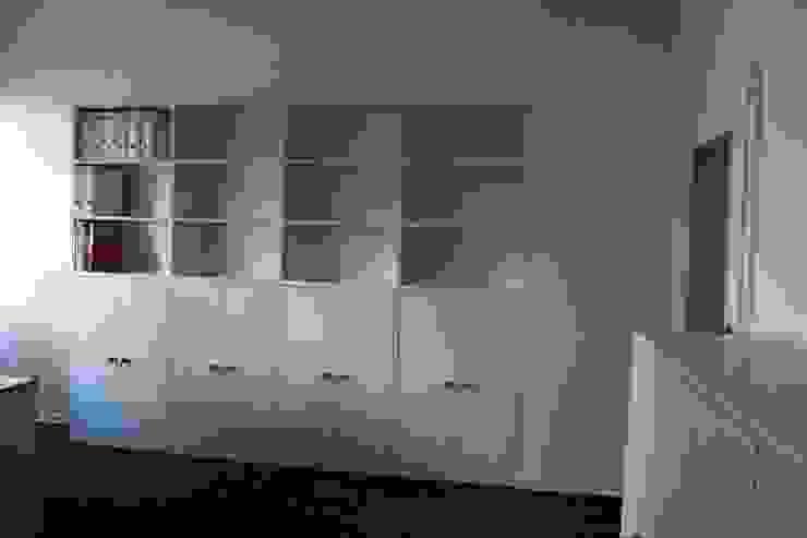 Aktenschrank lackiert:  Arbeitszimmer von ARTfischer Die Möbelmanufaktur.,