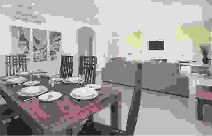 Traditional Portuguese Holiday Home designSTUDIO - Lopes da Silva 餐廳