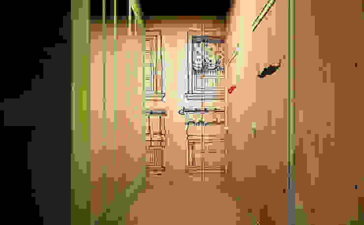 CAFE OKNA Бары и клубы в стиле минимализм от Zikzak architects Минимализм Изделия из древесины Прозрачный