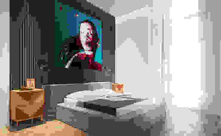 Одесские каникулы Спальня в стиле минимализм от Zikzak architects Минимализм