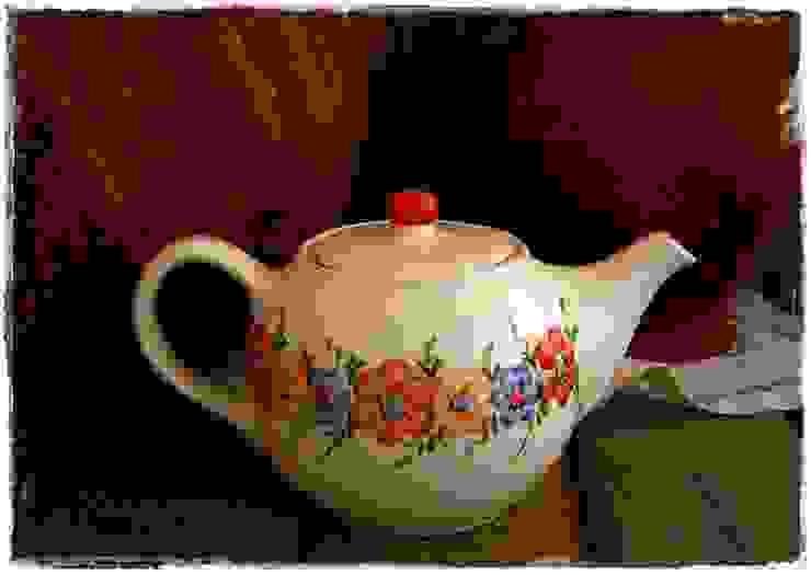 Bule de Chá p/ 4 Pessoas por Memória Lusa Minimalista Cerâmica