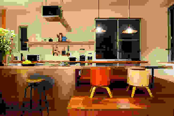 アーキライン一級建築士事務所 Modern kitchen