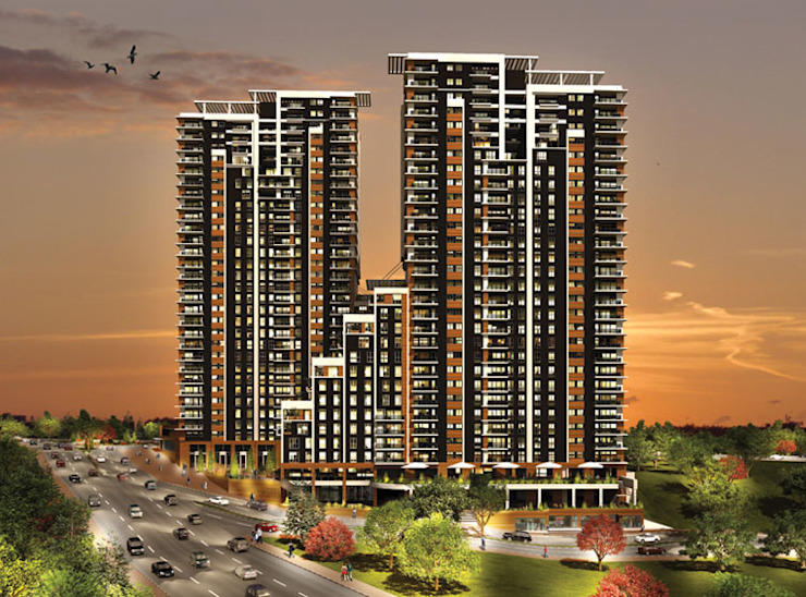 CCT 141 Project in Bahcesehir Modern Evler CCT INVESTMENTS Modern