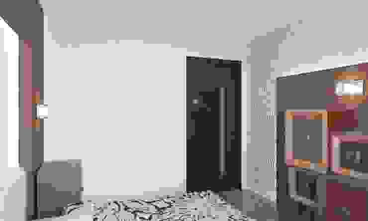 Для двоих Спальня в эклектичном стиле от Дизайн студия Александра Скирды ВЕРСАЛЬПРОЕКТ Эклектичный