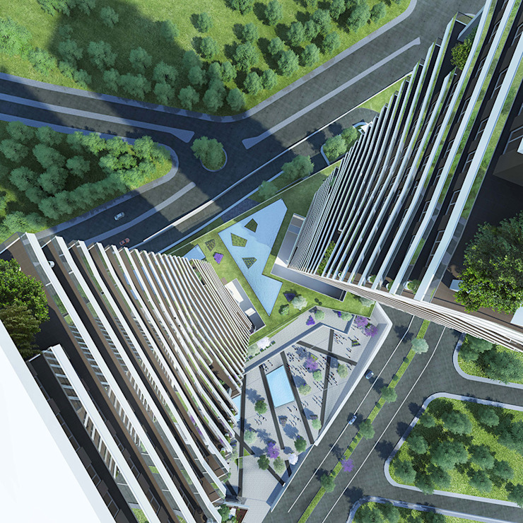 CCT 157 Project in Bahcesehir Modern Evler CCT INVESTMENTS Modern