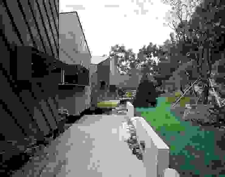세자매 하우스 모던스타일 주택 by 예공건축 모던