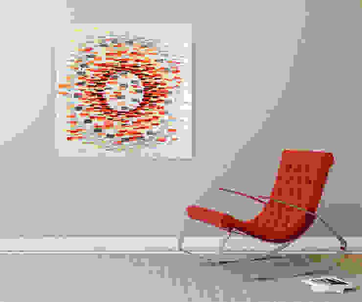 modern  by KUNSTLOFT, Modern Cotton Red