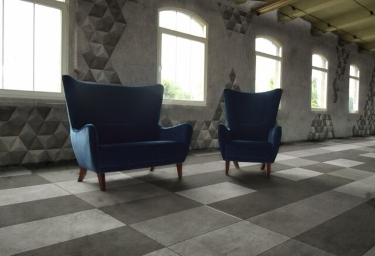 Concrete panels Bettoni DecoMania.pl Minimalist walls & floors