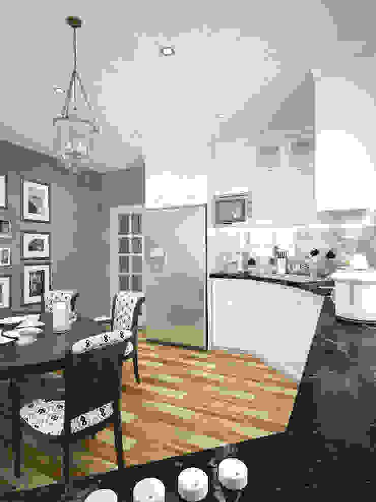 Намёки Кухня в классическом стиле от Дизайн студия Александра Скирды ВЕРСАЛЬПРОЕКТ Классический