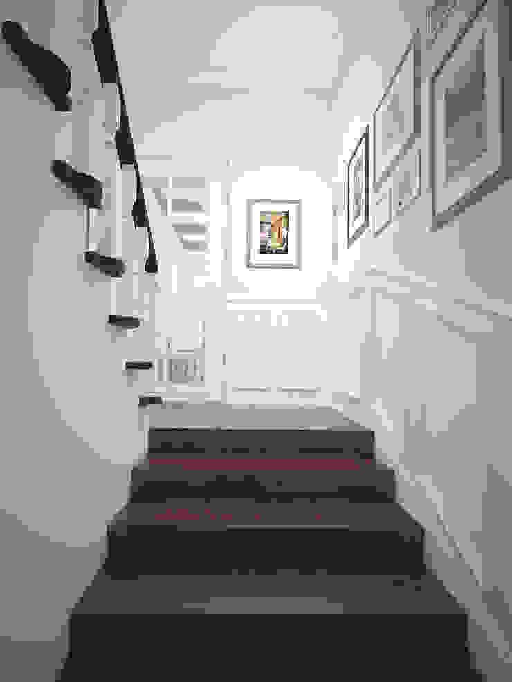 Намёки Коридор, прихожая и лестница в классическом стиле от Дизайн студия Александра Скирды ВЕРСАЛЬПРОЕКТ Классический