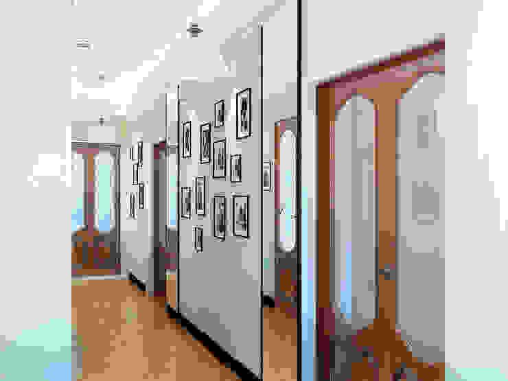 Дизайн студия Александра Скирды ВЕРСАЛЬПРОЕКТが手掛けた廊下 & 玄関, オリジナル