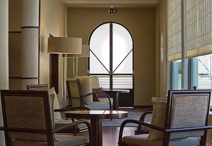 Terra Nostra Garden Hotel, Iluminação de emergência que se funde à sua envolvente Hotéis clássicos por Aura Light Clássico