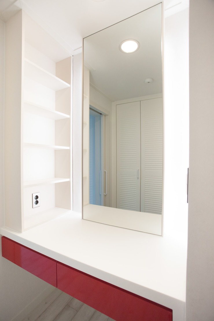 Modern dressing room by make ain Modern