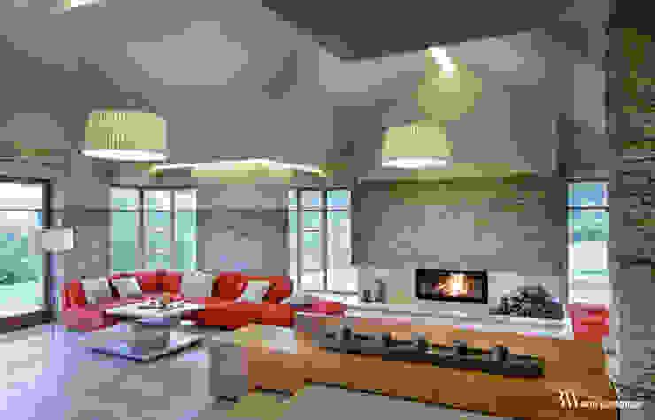 Moderne Wohnzimmer von Bartek Włodarczyk Architekt Modern