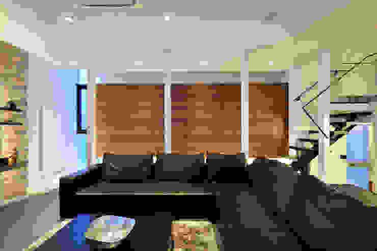 株式会社 Atelier-D Living roomStorage Wood Wood effect