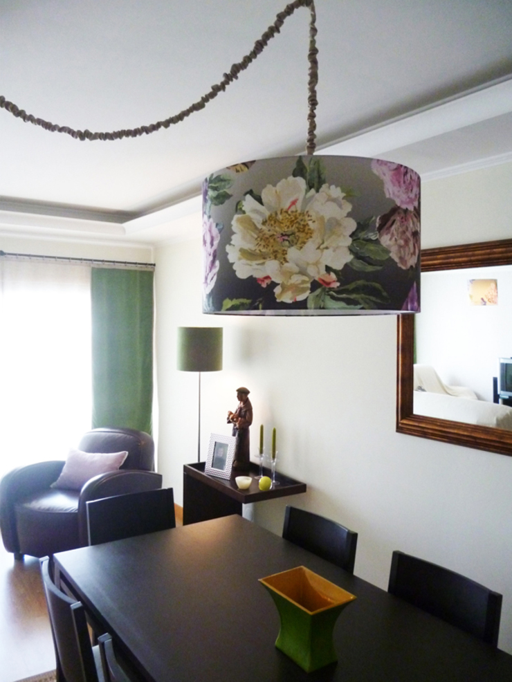 Sala Comum - zona de jantar Salas de jantar clássicas por maria inês home style Clássico