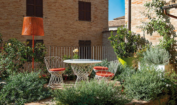 Moderner Garten von Giardini Giordani Modern Metall