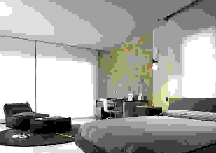 ruiz narvaiza associats sl Moderne Schlafzimmer