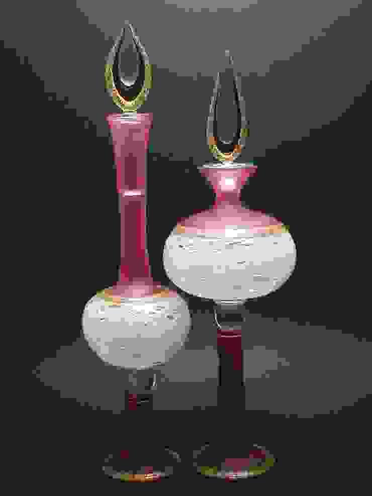 流白: ガラス工房るんが手掛けた折衷的なです。,オリジナル ガラス