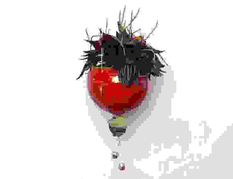 fair-art Steffen Karol SalonesAccesorios y decoración Cerámico Rojo