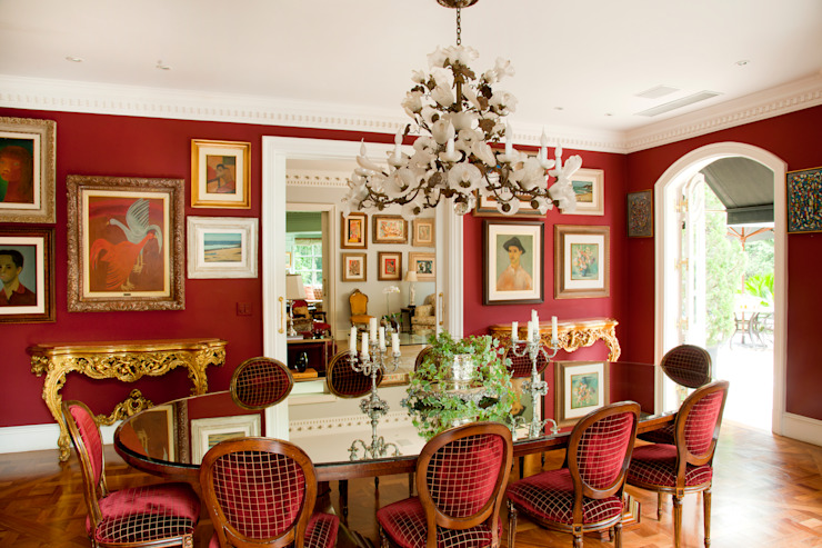 Classic style dining room by Allan Malouf Arquitetura e Interiores Classic