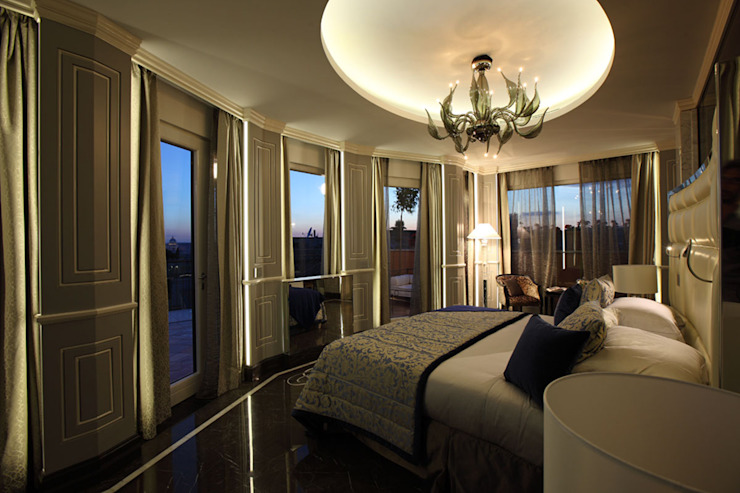 Progetto Modern style bedroom by Spagnulo & Partners Modern