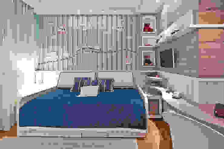 Cuartos infantiles de estilo moderno de Heller Arquitetura e Interiores Moderno