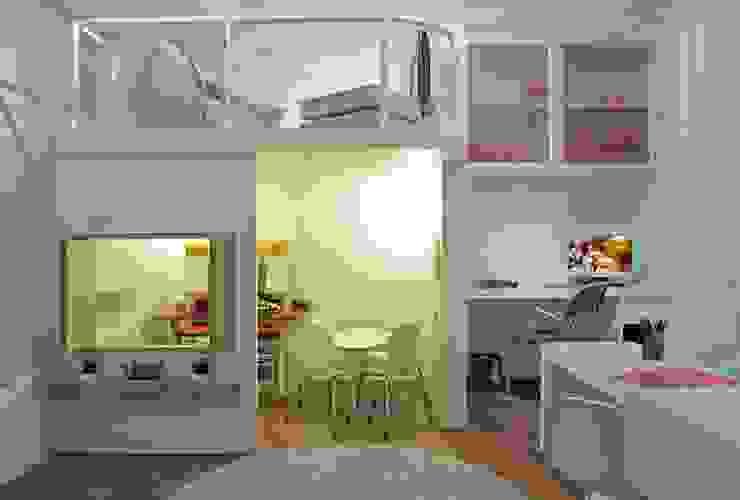 Heller Arquitetura e Interiores Kamar Bayi/Anak Modern Multicolored