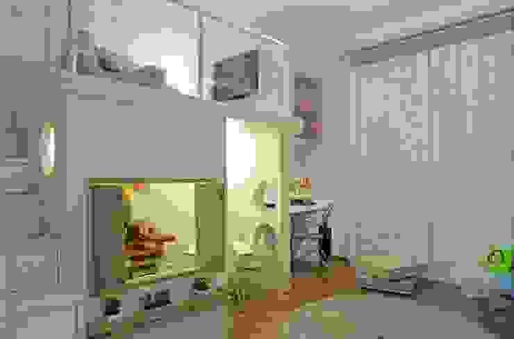 Brinquedoteca Quarto infantil moderno por Heller Arquitetura e Interiores Moderno