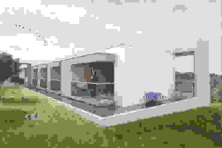 Балкон и терраса в стиле минимализм от Ar4 Arquitectos Минимализм
